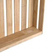 Solid Wood Grids Storage Boxes 3pcs Set Furniteam